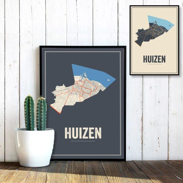 Huizen poster