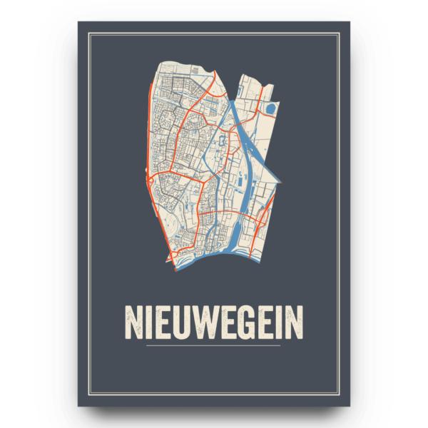 Nieuwegein kaarten poster