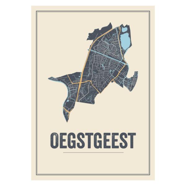 poster van Oegstgeest