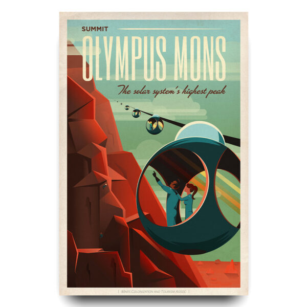 Olympus Mons poster