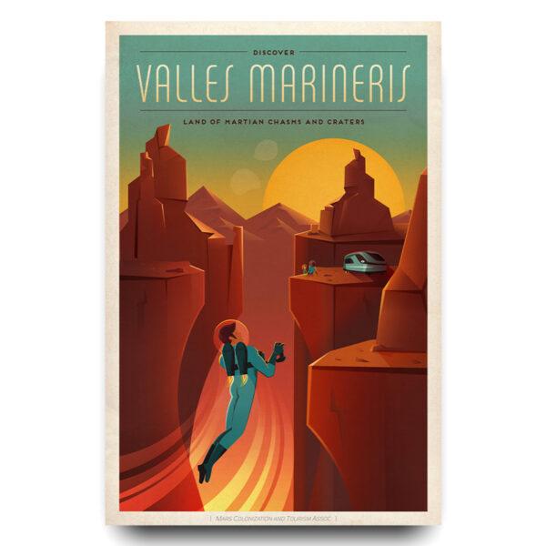 Valles Marineris poster