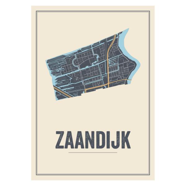 poster van Zaandijk, Noord-Holland