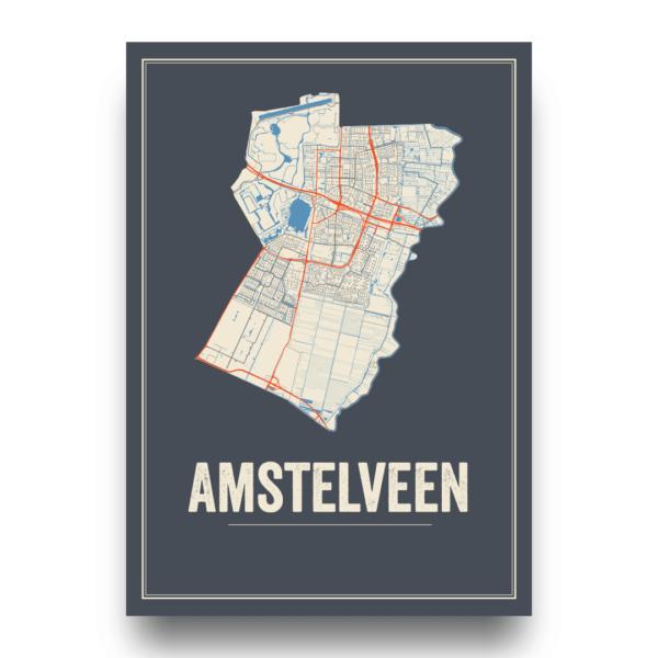 Amstelveen stadskaarten