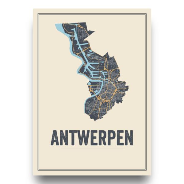 stadsposter Antwerpen