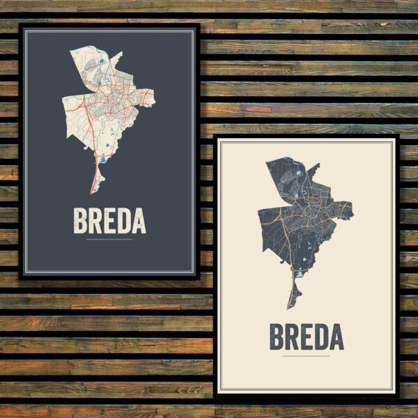 Breda stadskaarten