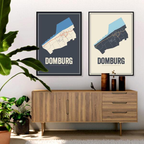 Domburg poster