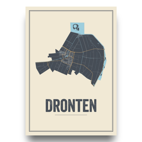 city map Dronten, Nederland