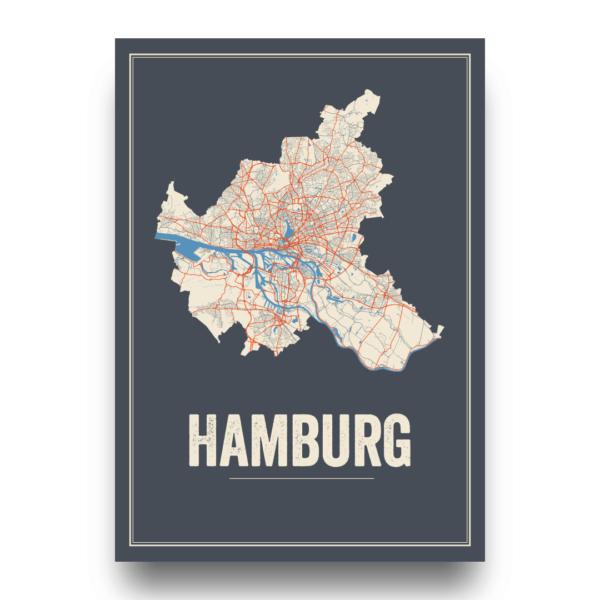 Hamburg stads posters