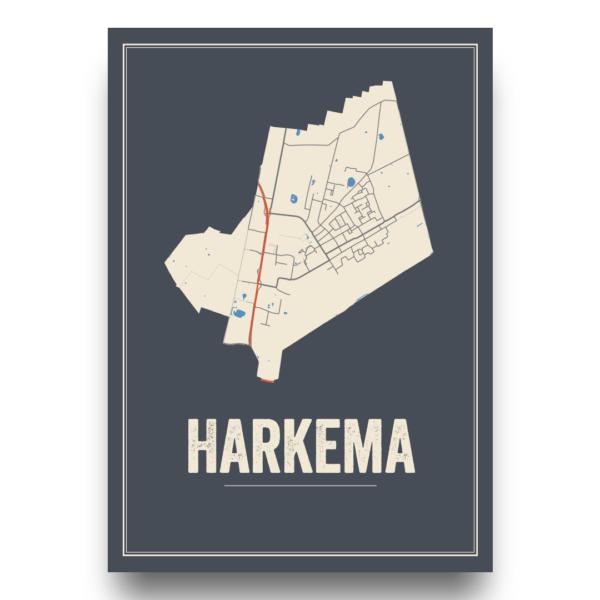 Harkema, Friesland posters