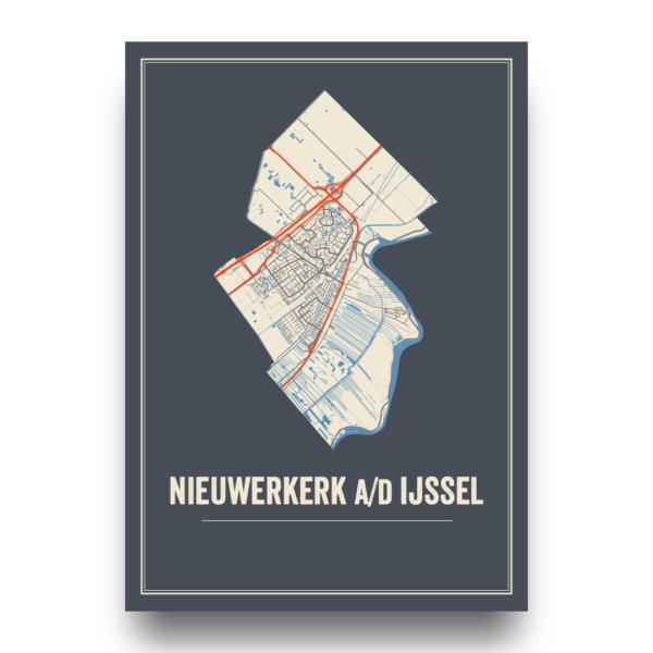 posters en prints Nieuwerkerk aan den IJssel