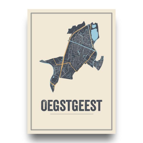 poster van Oegstgeest, Nederland