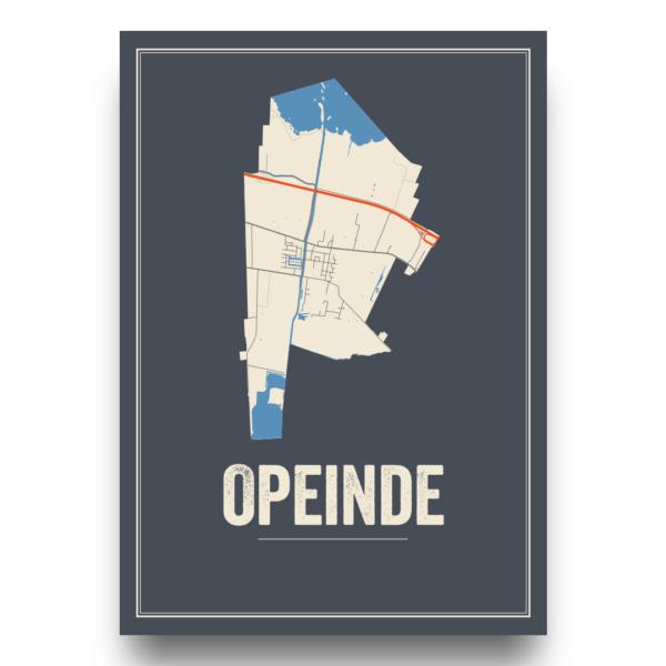 Opeinde, Friesland poster