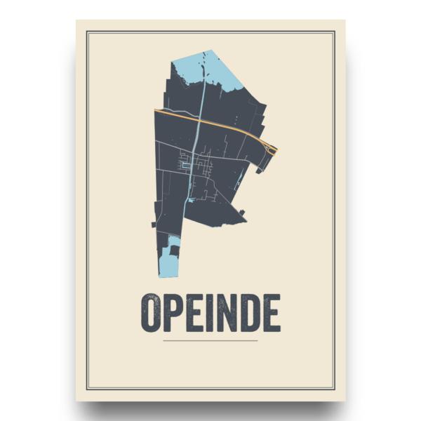 poster van Opeinde, Nederland