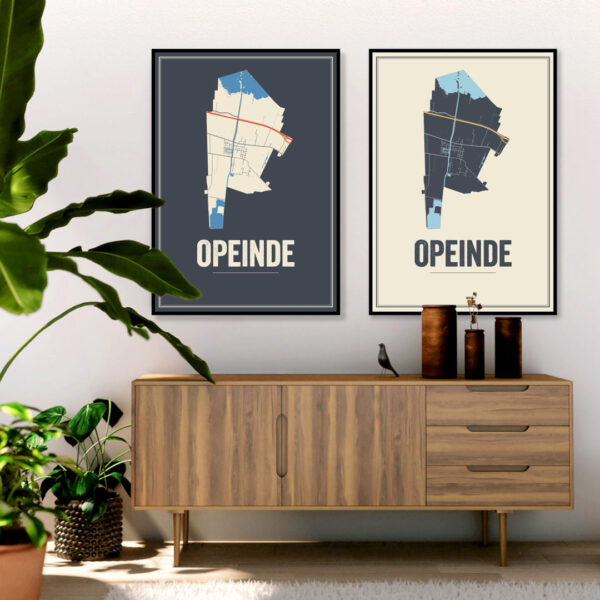 Opeinde posters