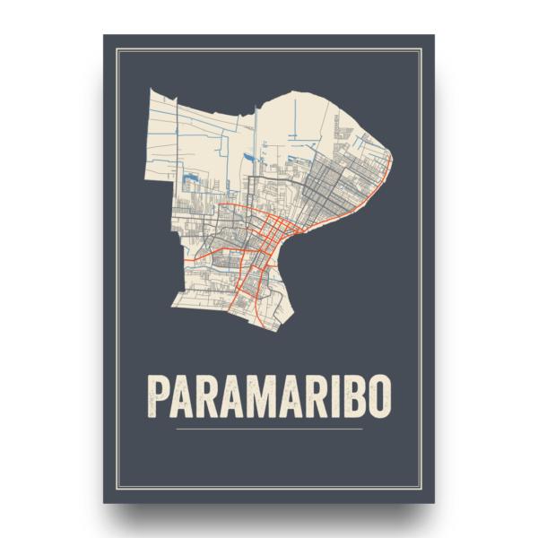 Paramaribo, Suriname poster