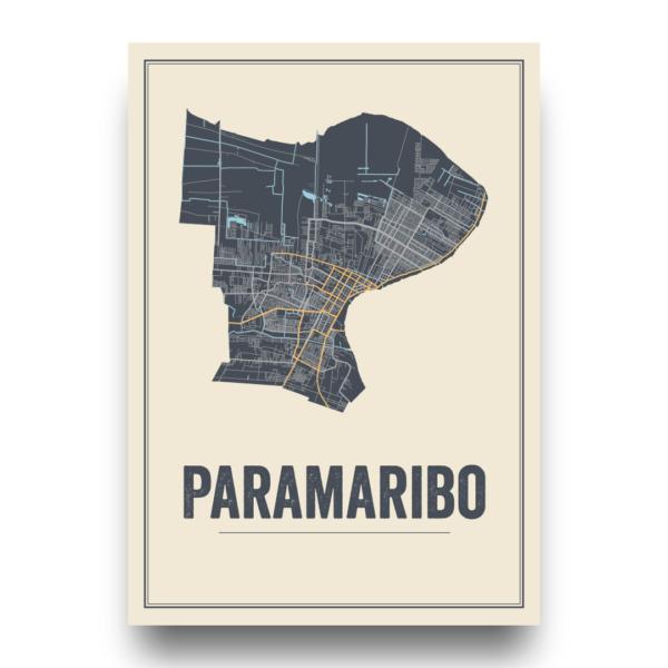 stadsposter Paramaribo