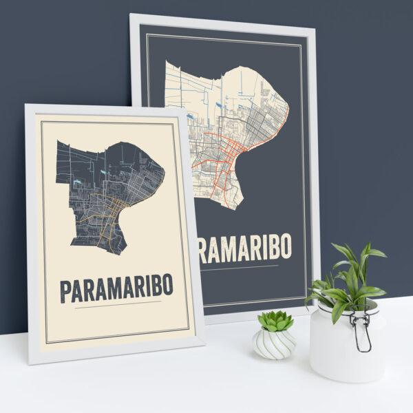 Paramaribo posters
