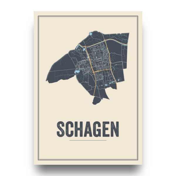 stadskaart Schagen