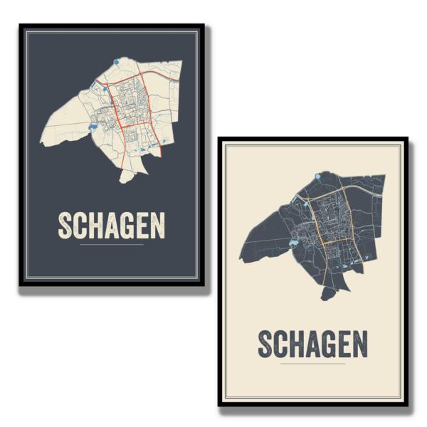 Schagen posters