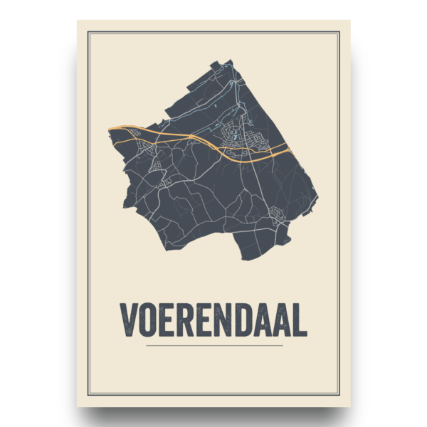 Voerendaal, Limburg poster