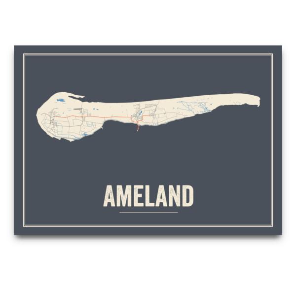 Ameland poster Nederland