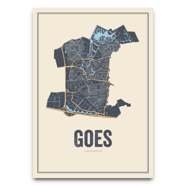 stadskaart Goes