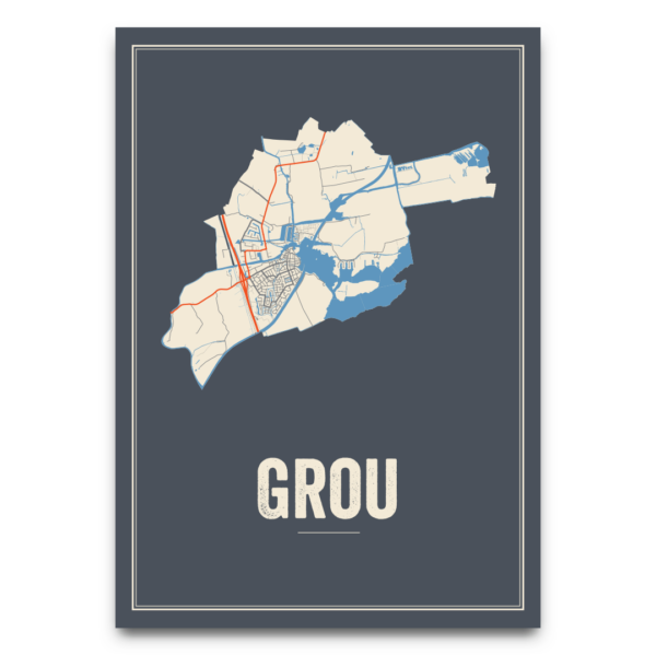 kaarten poster Grou