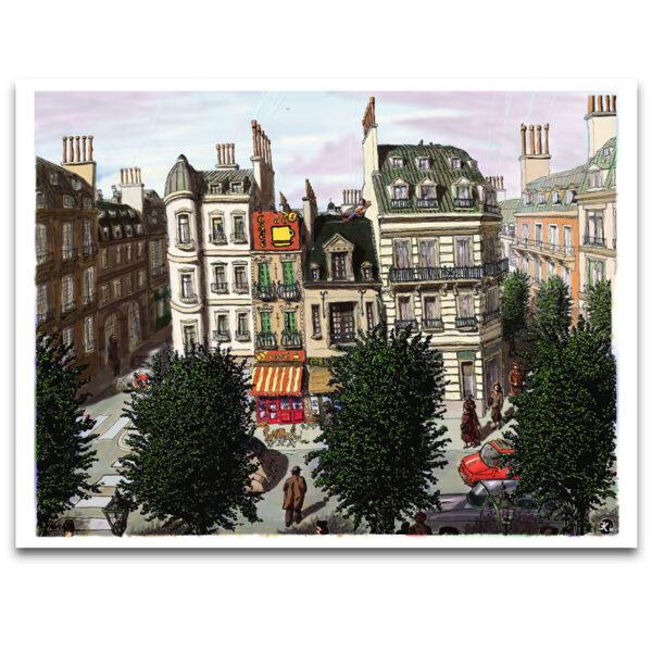 La Rue Principale poster
