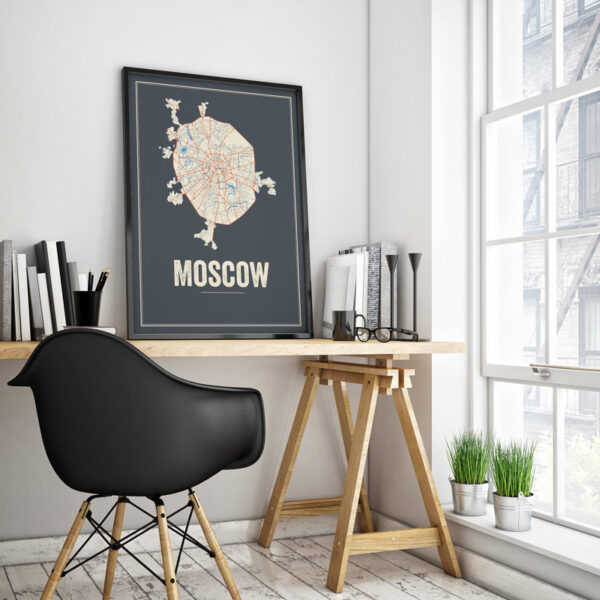 Moscow posters