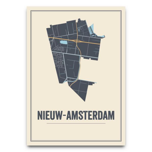 posters Nieuw-Amsterdam