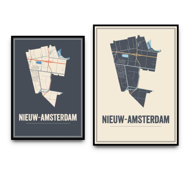Nieuw-Amsterdam posters