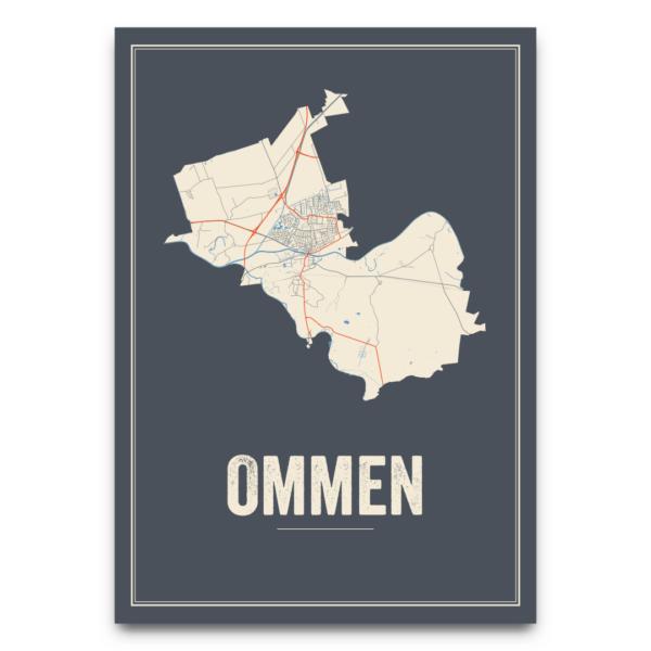 posterkaart Ommen