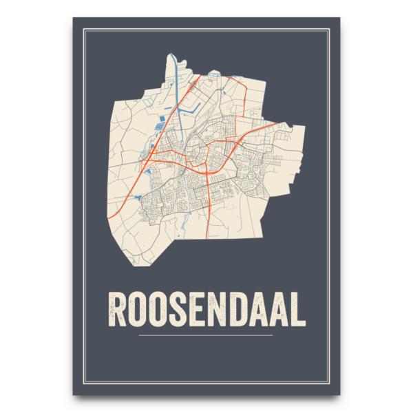 stadskaart Roosendaal