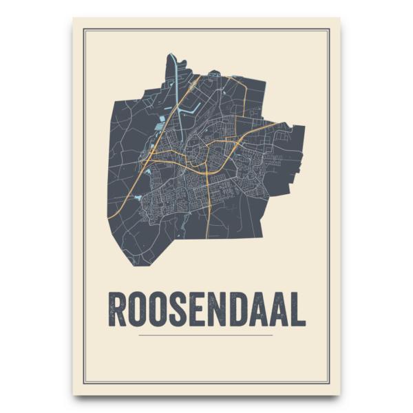 Roosendaal stadskaarten