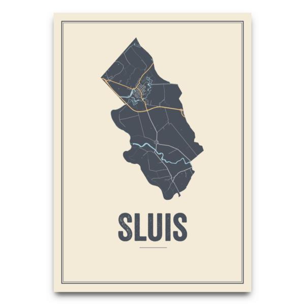 Kaart Sluis