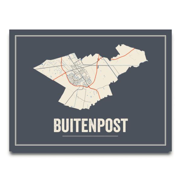 Buitenpost poster