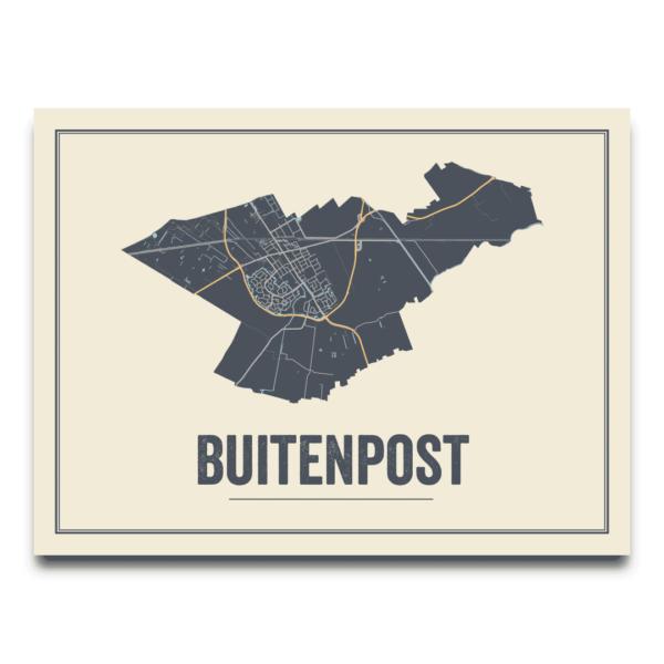 poster van Buitenpost