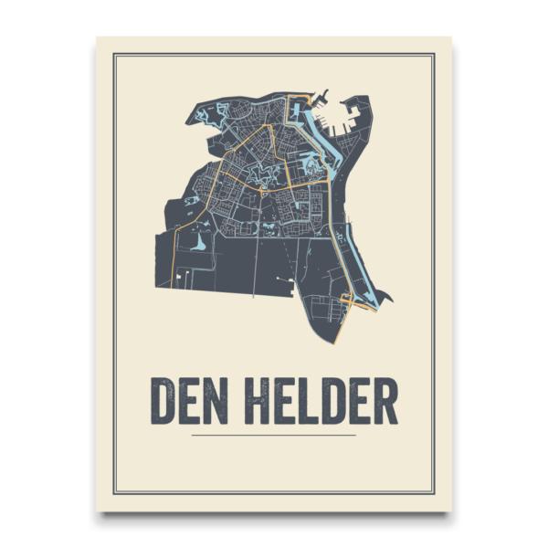 Stadskaart Den Helder