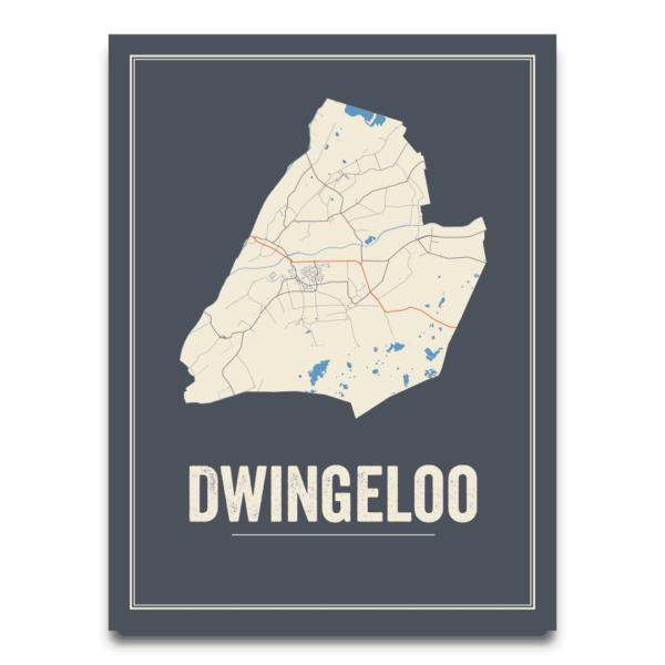 Dwingeloo stadsposter