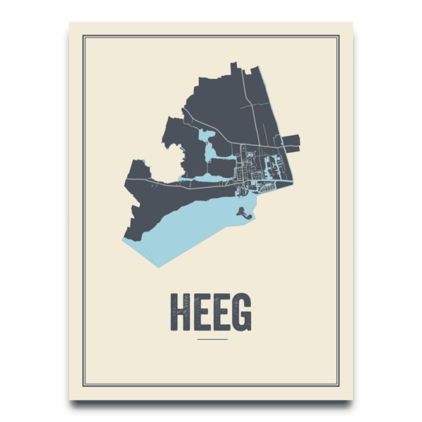 kaart Heeg