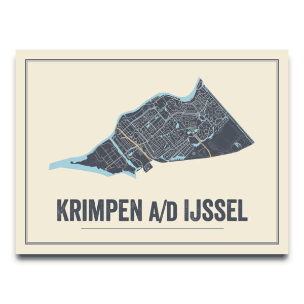 Krimpen aan den IJssel stadskaart
