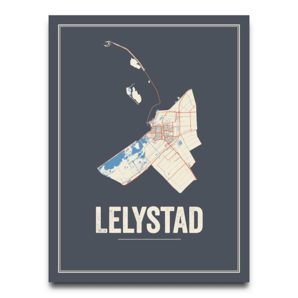 stadskaart Lelystad