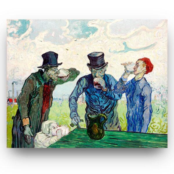 The Drinkers Vincent van Gogh
