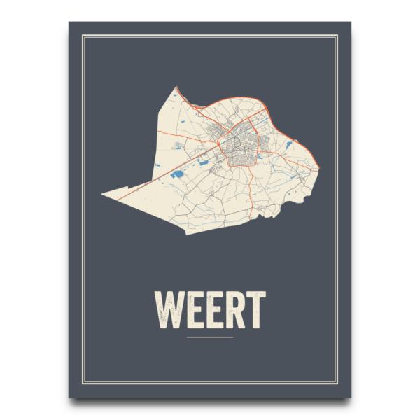 Weert stads poster