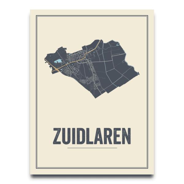 Zuidlaren dorps poster