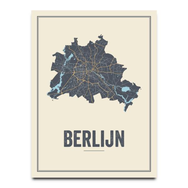 City map Berlin