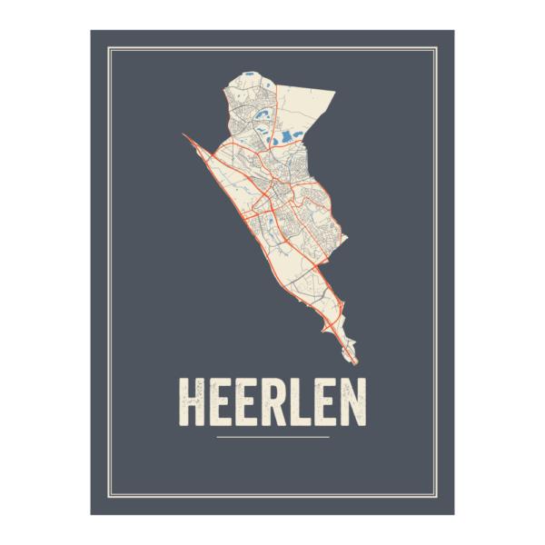 Heerlen stadskaart