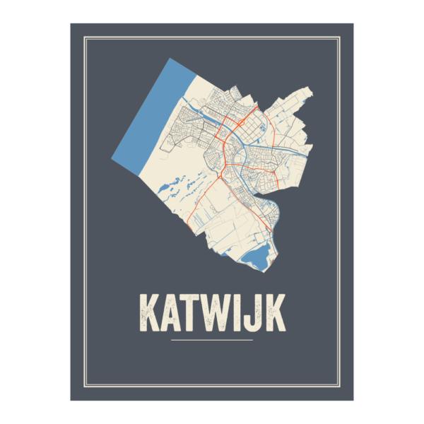 Katwijk stadskaart