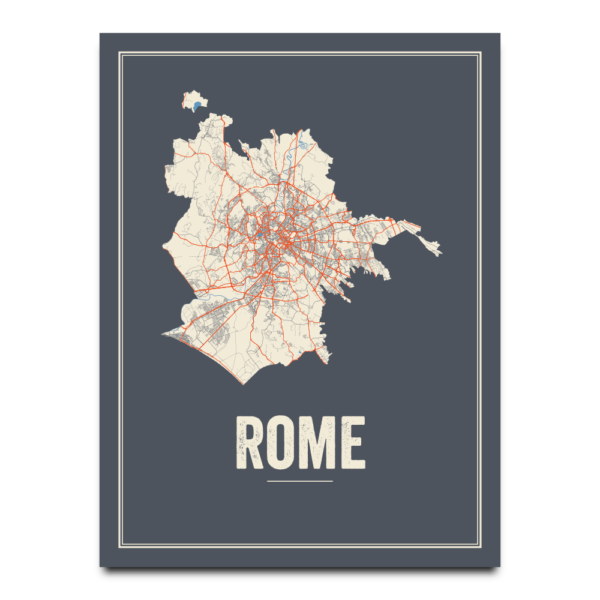 Rome stadskaart