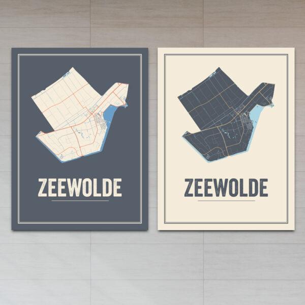 Zeewolde stadkaart